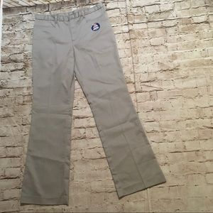 Dickies gray pants size 11 junior stain release